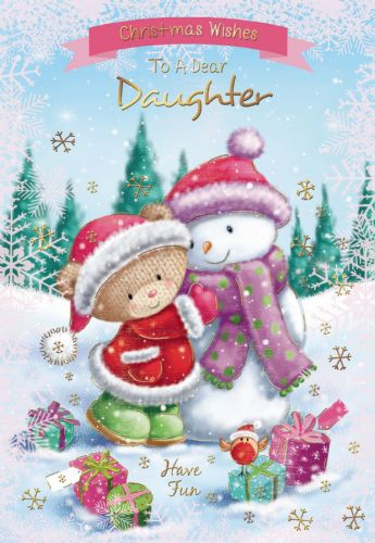 Christmas Wishes To A Dear Daughter